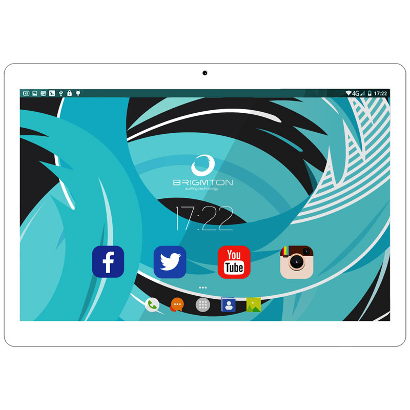 TABLET BRIGMTON BTPC-1027QC-3G QUAD CORE 10 BLANC