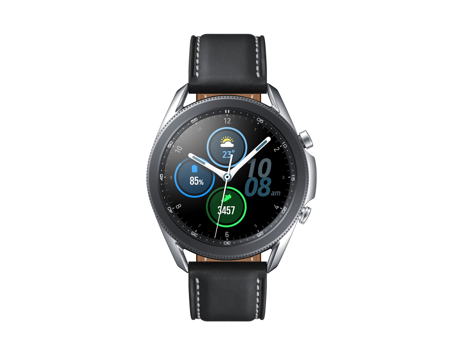 SMARTWATCH SAMSUNG GALAXY WATCH 3 45MM SILVER