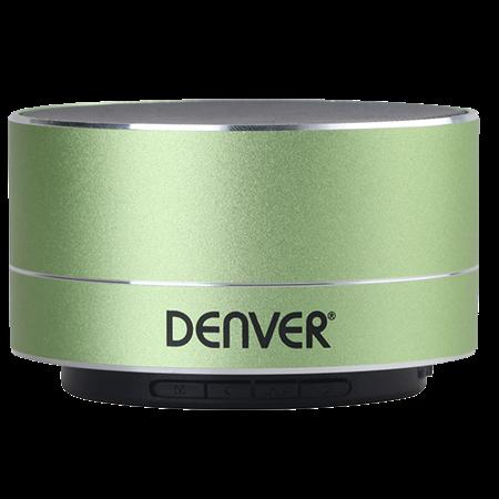 ALTAVOZ DENVER BTS-32 BLUETOOTH 3W GREEN