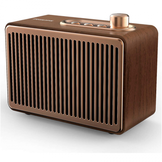 ALTAVOZ PHILIPS TAVS300/00 MADERA BLUETOOTH 4W